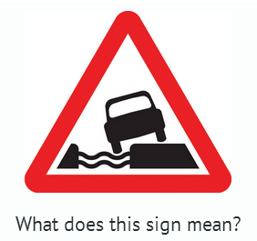 Traffic signs test UK