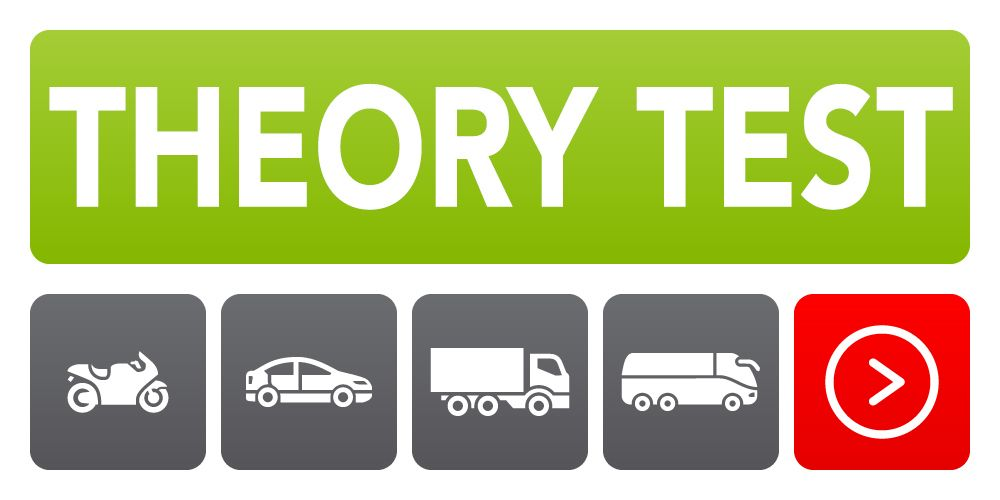 Driving theory test and hazard perception for car, motorcycle, lorry and bus